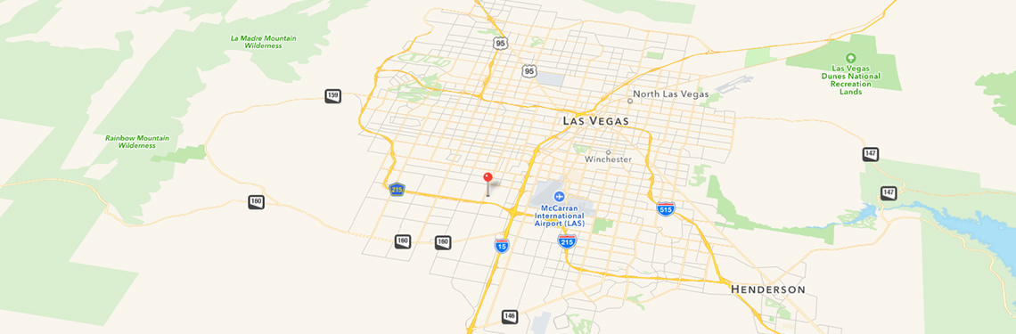 Collision Center Las Vegas - Directions